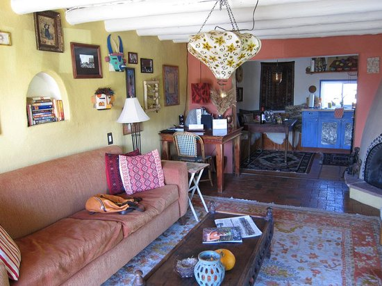 Casa Gallina: The living area