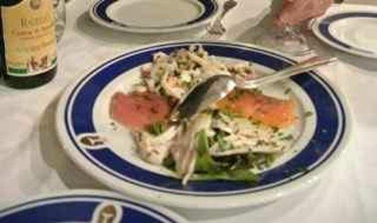 Al Ristoro del Moro: marinated seafood platter