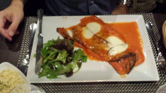 Resto Verso: Veal Parmigiana