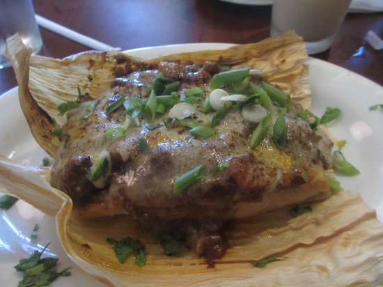 Dhat Island: Tamale - either ox tail or goat