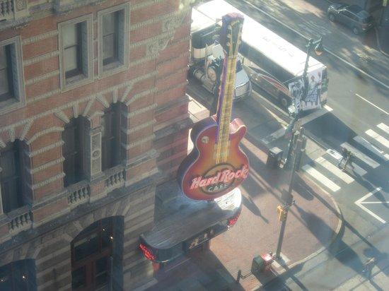 Philadelphia Marriott Downtown : View from room