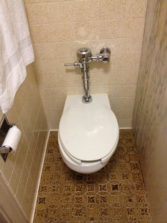 Kahler Grand Hotel: approximately 2 foot wide bathroom