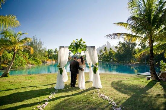 The St Regis Bora Resort Miri Spa Wedding Setting