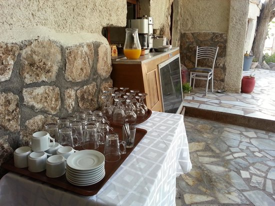 Gerdis Evi: breakfast area