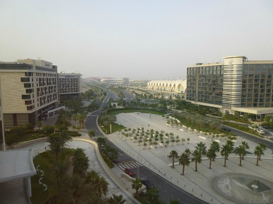 Crowne Plaza Abu Dhabi - Yas Island: View from one of the forward facing room.