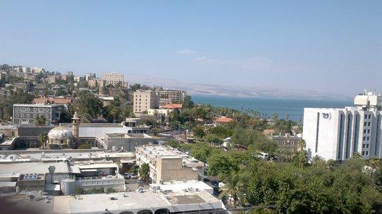 Leonardo Club Hotel Tiberias: View from room