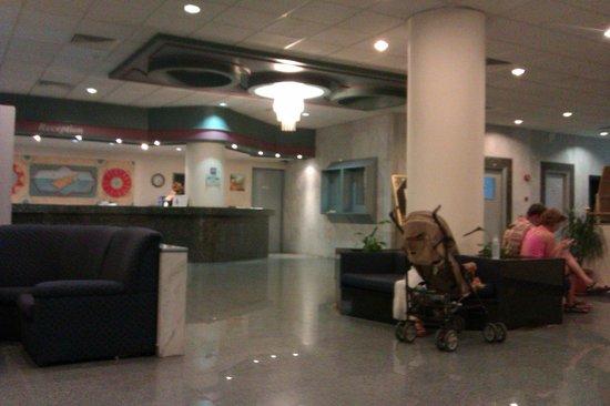 Paschalia Hotel: зона ресепшн