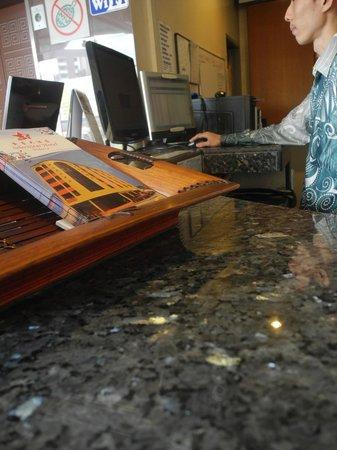 Selectstar Hotel: Front Desk
