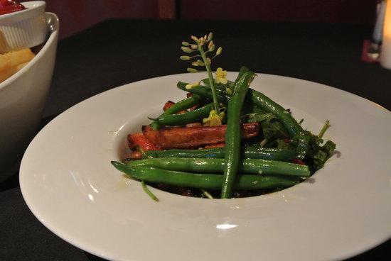 Alfresco's Restaurant and Bar: veges! great taste