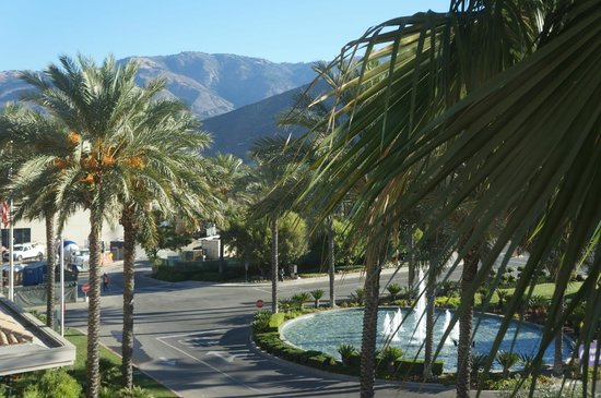 Harrah's Resort Southern California: view from the room