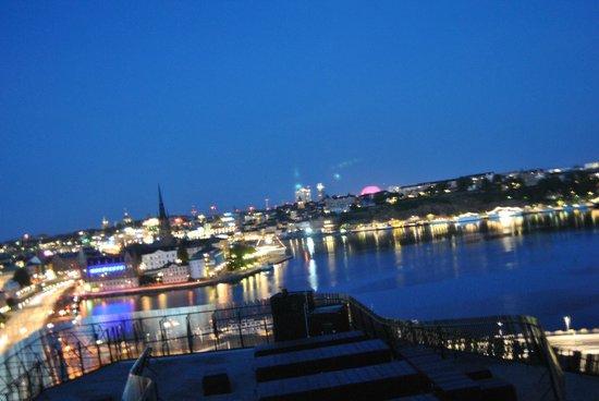 Radisson Blu Waterfront Hotel: vista dalla camera