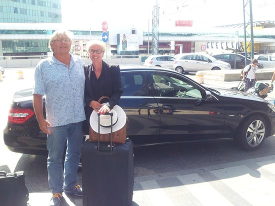 Roma Limousine Car Service - Tour: Mr. & Mrs. Salomonsen