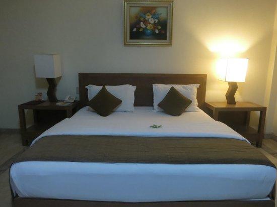Cangkringan Jogja Villas & Spa: bed is comfortable