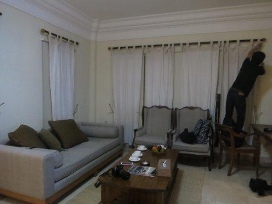 Cangkringan Jogja Villas & Spa: The living room
