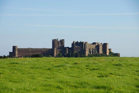 Bamburgh Castle: castle