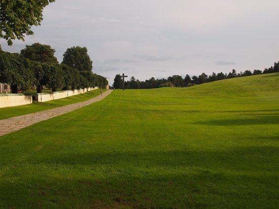 Skogskyrkogården : エントランスの風景