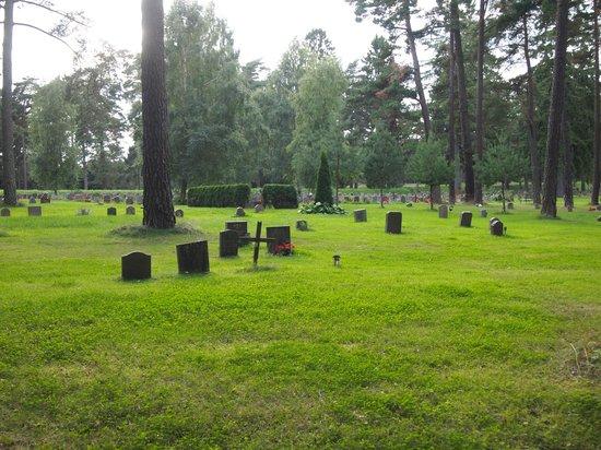 Skogskyrkogården : 墓地