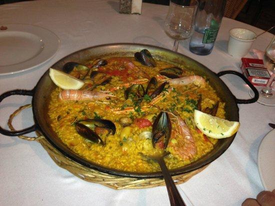 La Santa Maria: Paella fruits de mer