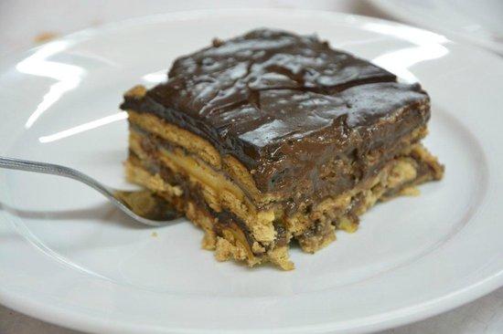 O Portón: Tarta de chocolate, lo mejor de todo