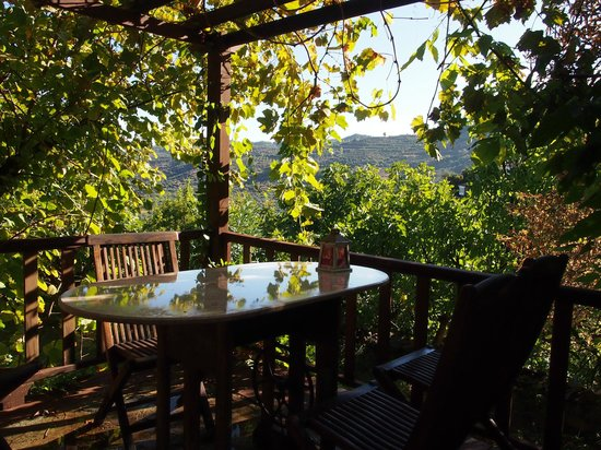 Terras Evler - Terrace Houses Sirince: Outdoor dining at Grapevine House