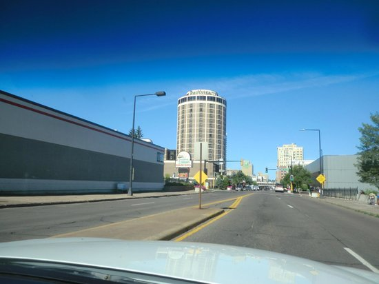 Enger Park and Tower: RADISSON HOTEL ON SUPERIOR ST.