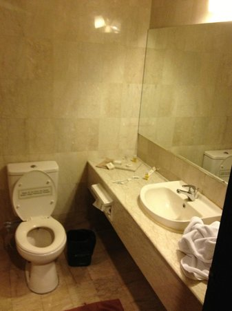 Losari Hotel & Villas: Standard bathroom