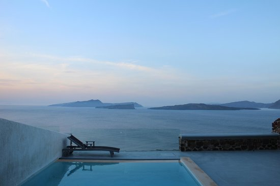 Ambassador Aegean Luxury Hotel & Suites: View from the top of the hotel