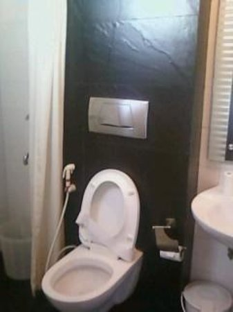 Hotel Crystal Inn: Well furnished toilet