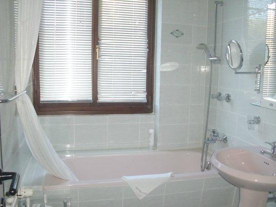 Hotel Weißer Schwan: Badewanne
