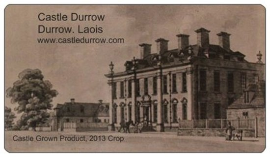 Castle Durrow : Our Chutney Label of the Castle a Long Long Time Ago