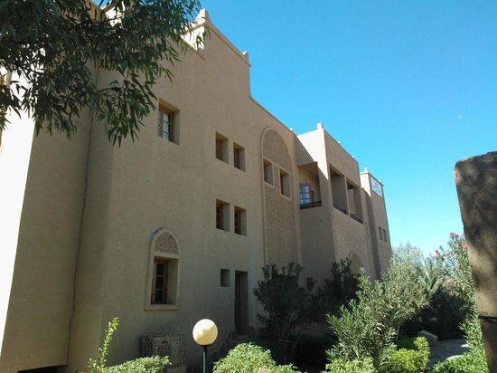 Hotel Ksar Assalassil: Rückseite mit den Balkons der Suite