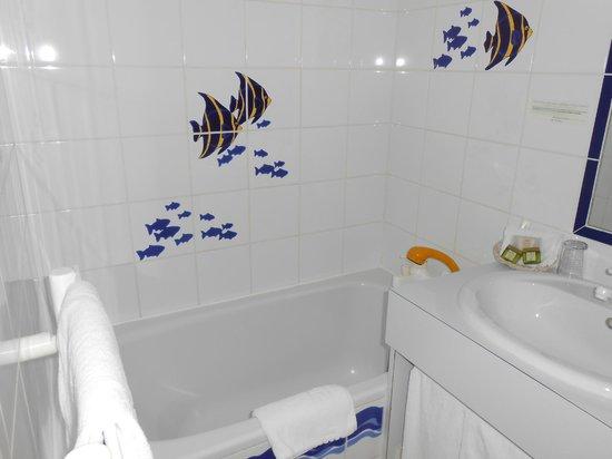 Hotel Lutetia : salle de bains