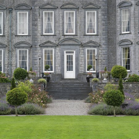Castle Durrow: The Back of the Castle