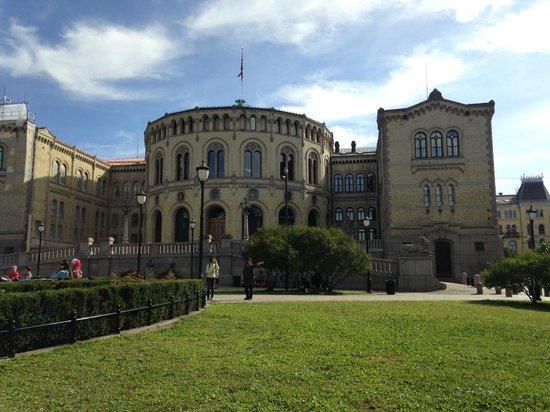 The Norwegian Parliament : かっこいい