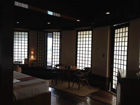 Friday's Boracay : Premier Suite, the living area