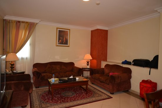 Coral Al Ahsa Hotel: Big and nice salon