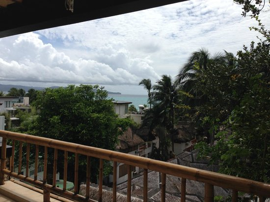 Friday's Boracay : View from the premier suite terrace