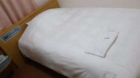 Hotel Alpha-1 Niigata : ふかふかでした。