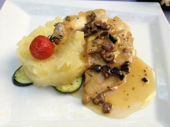 Restaurant La Cour d'Honneur : plat du jour