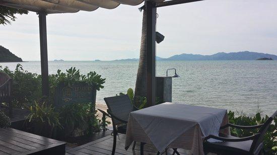 The Scent Hotel: Вид из ресторана
