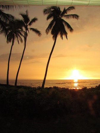 Keauhou Kona Surf & Racquet Club: sunset view