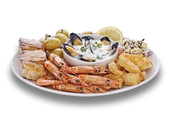 Cape Town Fish Market: Kalk Bay Platter