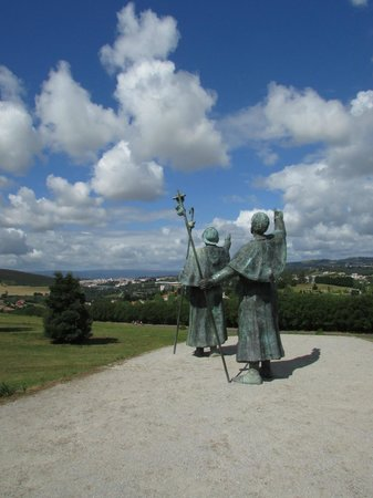 Monte do Gozo: Los peregrinos