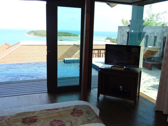 Nora Buri Resort & Spa: View from the bed