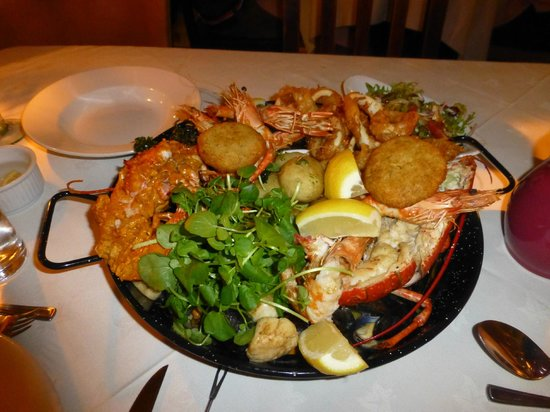 Plantagenet House Restaurant: Seafood Sharing Platter