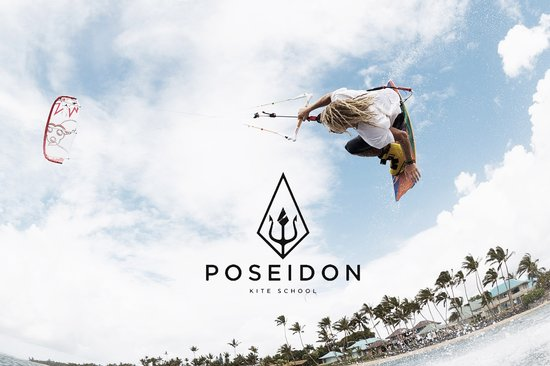 Poseidon kite school's Chris Burke