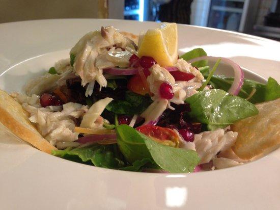 Spasso Restaurant at Grand Hyatt Erawan: Seabass salad