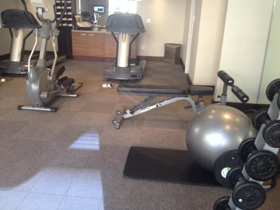 City Lodge Hotel OR Tambo Airport : Gym