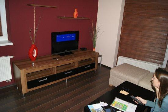 Hotel Euforia: Living room