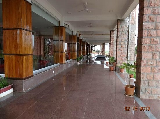 Bagalkot, India: Outside Dining area